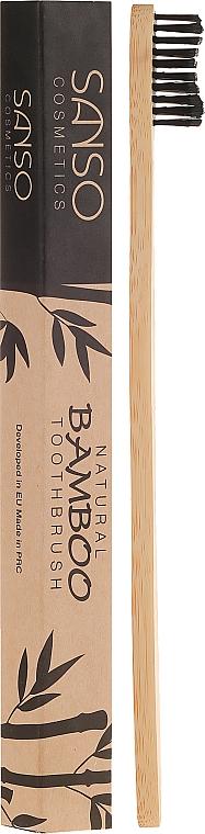 Cepillo dental de bambú - Sanso Cosmetics Natural Bamboo Toothbrushes