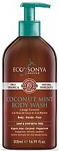 Perfumería y cosmética Gel de ducha con aceite de coco y menta - Eco by Sonya Coconut Mint Body Wash