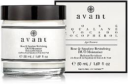 Perfumería y cosmética Crema facial hidratante con rosas y escualeno - Avant Rose & Squalane Revitalising DUO Moisturiser
