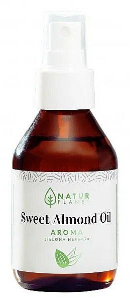 Aceite de almendra dulce con aroma a té verde - Natur Planet Sweet Almond Oil Aroma Green Tea