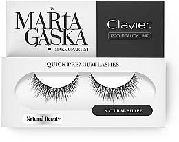 Perfumería y cosmética Pestañas postizas - Clavier Quick Premium Lashes Natural Beauty 827