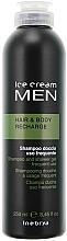 Perfumería y cosmética Champú gel de ducha tonificante con extracto de romero - Inebrya Ice Cream Men Hair and Body Recharge