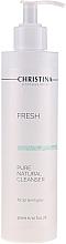 Perfumería y cosmética Gel natural de limpieza facial con extractos de caléndula, camomila y avellana - Christina Fresh Pure & Natural Cleanser