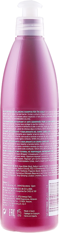 Champú detoxificante y equilibrante con extracto de romero - Revlon Professional Pro You Purifying Shampoo — imagen N2