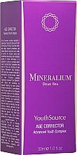 Perfumería y cosmética Sérum corrector antiedad para rostro - Minerallium Youth Source Age Corrector Advanced Youth Complex
