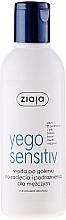 Perfumería y cosmética Agua aftershave contra irritaciónes con D-pantenol, sin alcohol - Ziaja Yego Soothing Water After Shave