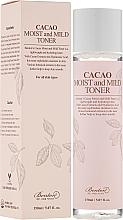 Perfumería y cosmética Tónico facial hidratante con extracto de cacao y ácido hialurónico - Benton Cacao Moist and Mild Toner