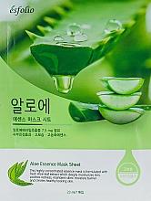 Perfumería y cosmética Mascarilla facial de tejido con extracto de hoja de aloe vera - Esfolio Aloe Essence Mask Sheet