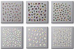 Perfumería y cosmética Pegatinas decorativas para uñas, 42737 - Top Choice Nail Decorations Stickers Set