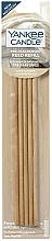 Perfumería y cosmética Varitas aromáticas, toallas mullidas (recambio) - Yankee Candle Warm Cashmere Pre-Fragranced Reed Refill