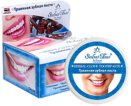 Perfumería y cosmética Pasta dental a base de hierbas y clavo - Sabai Thai Herbal Clove Toothpaste