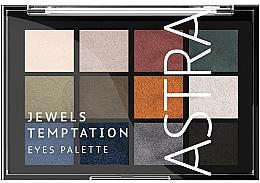 Perfumería y cosmética Paleta sombras de ojos - Astra Make-up The Temptation Palette