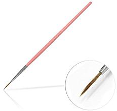 Perfumería y cosmética Pincel para decoración de uñas, 10mm - Silcare Brush 02 Pink