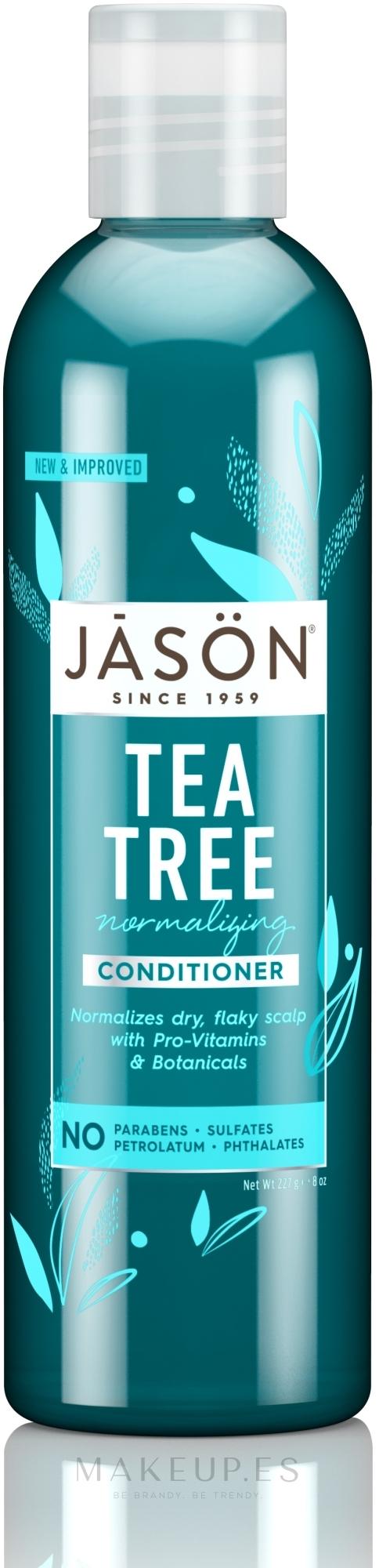Acondicionador fortificante con aceite de árbol de té - Jason Conditioner Normalizing Tea Tree Conditioner — imagen 227 ml