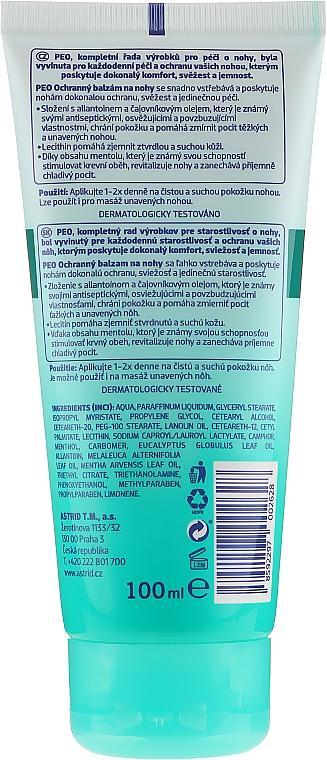 Bálsamo protector para pies con aceite de lanolina - Astrid Protective Foot Balm Peo — imagen N2