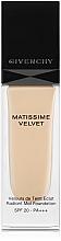 Perfumería y cosmética Base de maquillaje mate con protección solar - Givenchy Matissime Velvet Liquid Foundation SPF 20