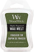 Perfumería y cosmética Cera aromática, abeto - WoodWick Wax Melt Frasier Fir