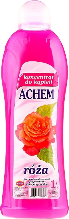 Espuma de baño concentrada con aroma a rosas - Achem Concentrated Bubble Bath Rose