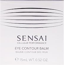 Perfumería y cosmética Bálsamo reafirmante para contorno de ojos - Kanebo Sensai Cellular Performance Eye Contour Balm