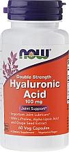 Perfumería y cosmética Complemento alimenticio en cápsulas vegetales de ácido hialurónico,100mg 60 cáp. - Now Foods Hyaluronic Acid 100 mg