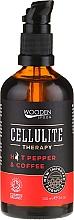 Perfumería y cosmética Aceite anticelulítico corporal con guindilla y café - Wooden Spoon Anti-cellulite Blend