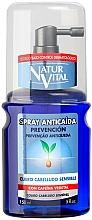 Perfumería y cosmética Spray anticaída de cabello con cafeína vegetal - Natur Vital Anticaida Prevencion Cuero Cabelludo Sensible Spray