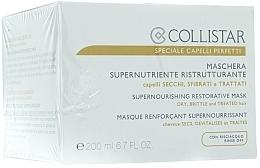 Mascarilla capilar con extracto de lino y moringa - Collistar Supernourishing Restorative Mask — imagen N1