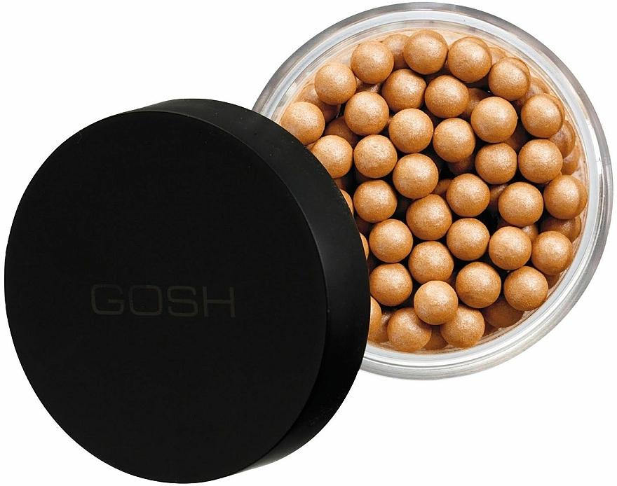 Polvo facial compacto en perlas - Gosh Pearl Glow — imagen N1