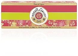 Perfumería y cosmética Roger & Gallet Fleur de Figuier - Set jabones perfumados (3uds.x100g)
