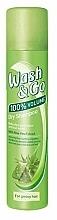 Perfumería y cosmética Champú seco en spray con extracto de aloe vera para cabello graso - Wash&Go