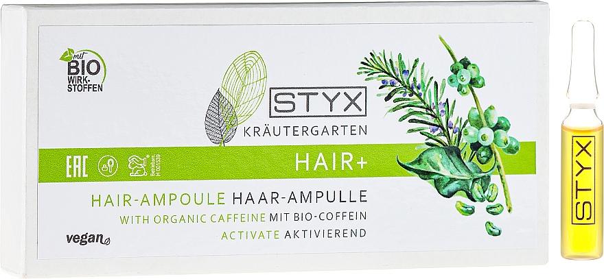 Ampollas para cabello con bio cafeína - Styx Naturcosmetic Haar Balsam mit Melisse