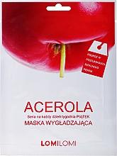 Perfumería y cosmética Mascarilla facial de tejido con extracto de acerola - LomiLomi Cucumber Acerola Mask