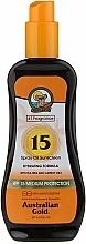 Perfumería y cosmética Spray protector solar - Australian Gold Tea Tree&Carrot Oils Spray SPF15