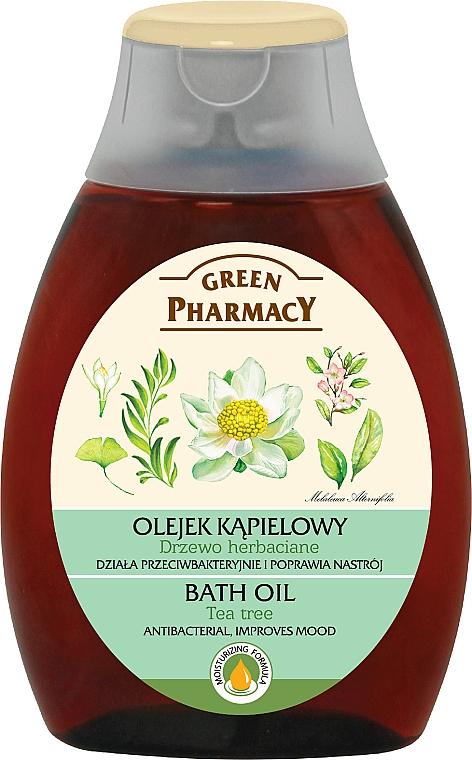Aceite de ducha y baño, Árbol de té - Green Pharmacy Tea Tree Bath Oil