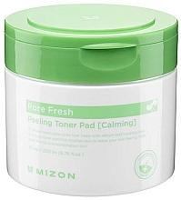 Perfumería y cosmética Almohadillas faciales exfoliantes calmantes con extracto de aloe vera - Mizon Pore Fresh Peeling Toner Pad