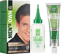 Perfumería y cosmética Tinte de cabello de larga duración, sin amoniaco - Henna Plus Men Own Hair Colouring