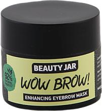 Perfumería y cosmética Mascarilla para crecimiento de cejas natural con aceite de jojoba y macadamia - Beauty Jar Wow Brow! Enhancing Eyebrow Mask