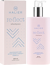Perfumería y cosmética Champú protector de cabello teñido - Halier Re:flect Shampoo