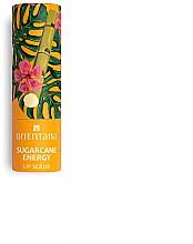 Perfumería y cosmética Exfoliante labial de caña de azúcar con aceite de coco, vegano - Orientana Sugarcane Energy