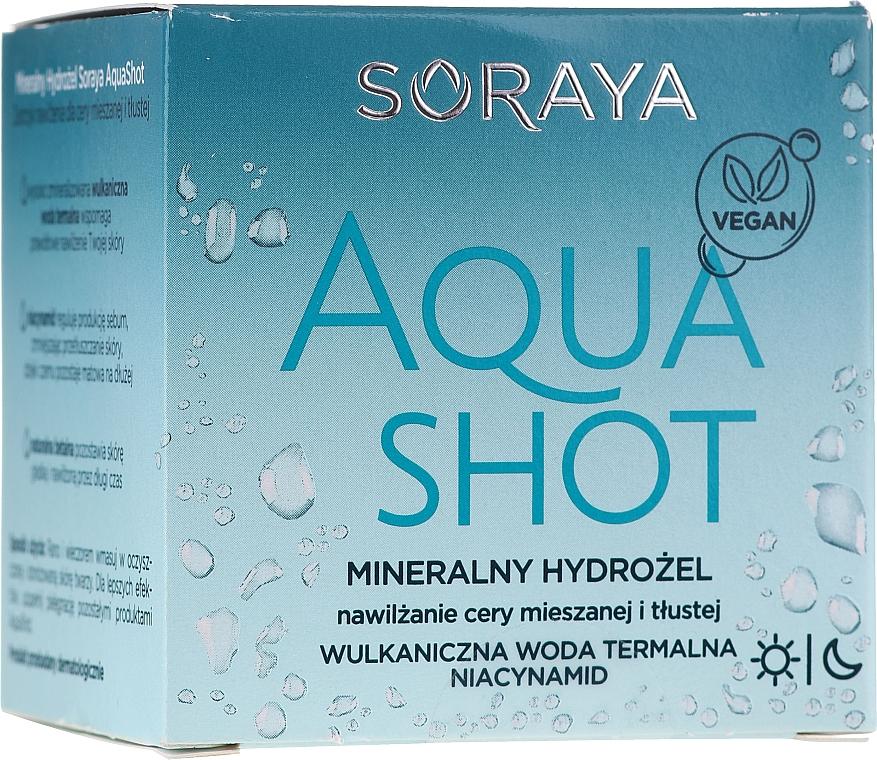 Gel facial limpiador para pieles grasas y mixtas - Soraya Aquashot