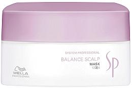 Perfumería y cosmética Mascarilla capilar anticaída y calmante para cuero cabelludo sensible - Wella SP Balance Scalp Mask