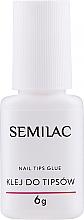 Perfumería y cosmética Pegamento para uñas postizas - Semilac Nail Tip Glue