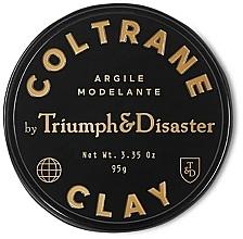 Perfumería y cosmética Pomada texturizante de cabello, fijación media, aroma a tabaco - Triumph & Disaster Coltrane Clay