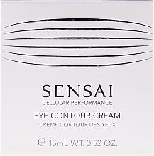 Perfumería y cosmética Crema contorno de ojos regeneradora con extracto de regaliz y niacinamida - Kanebo Sensai Cellular Performance Eye Contour Cream