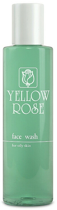 Gel de limpieza facial con ácido salicílico y aceite de árbol de té - Yellow Rose Face Wash For Oily Skin