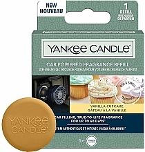 Perfumería y cosmética Difusor de fragancia de coche con vainilla (recambio) - Yankee Candle Car Powered Fragrance Refill Vanill