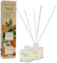 Perfumería y cosmética Set ambientadores Mikado con aroma a naranja y canela (2uds. x 50ml) - Flor De Mayo Mikado