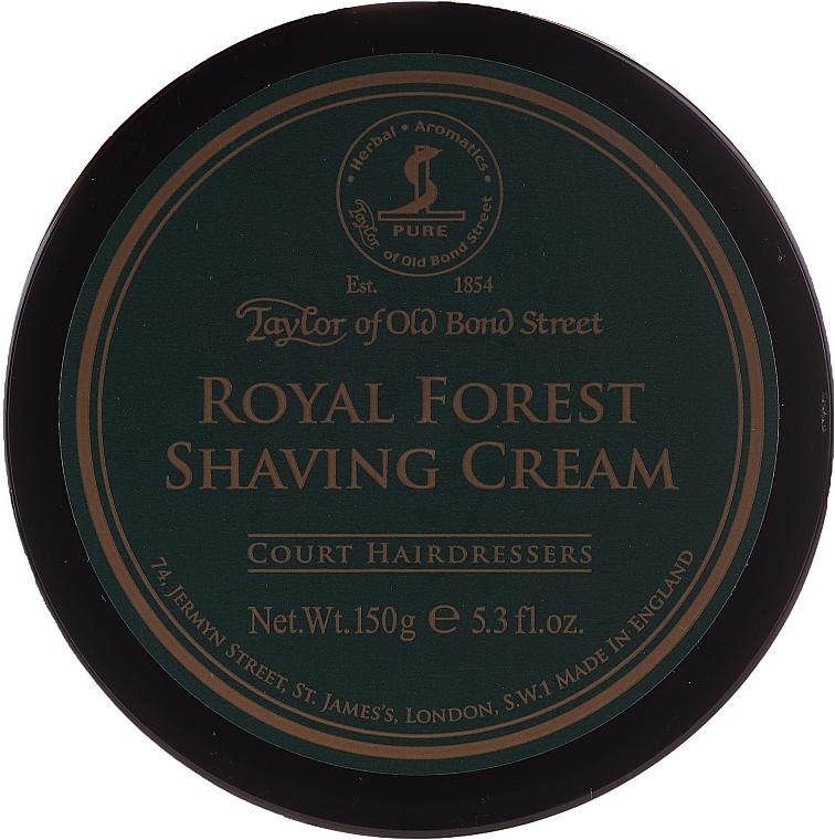 Crema de afeitar con aroma a bergaota y manzana - Taylor of Old Bond Street Royal Forest
