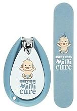 Perfumería y cosmética Beter Baby Minicure Duo Kit Blue - Set para bebés (cortaúñas/1ud. + lima/1ud.)