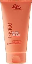 Perfumería y cosmética Crema antiencrespamiento para cabello con extracto de bayas de goji - Wella Professionals Invigo Nutri-Enrich Frizz Control Cream